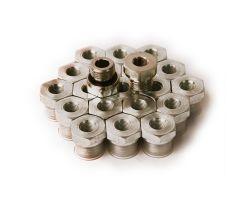 EO Thread Reducer Steel 24° Cone