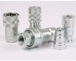 "ISO B Quick Coupling Male 1/4"" NPT Fem"